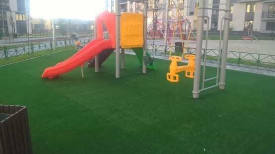 Детская площадка мкрн Солнечный